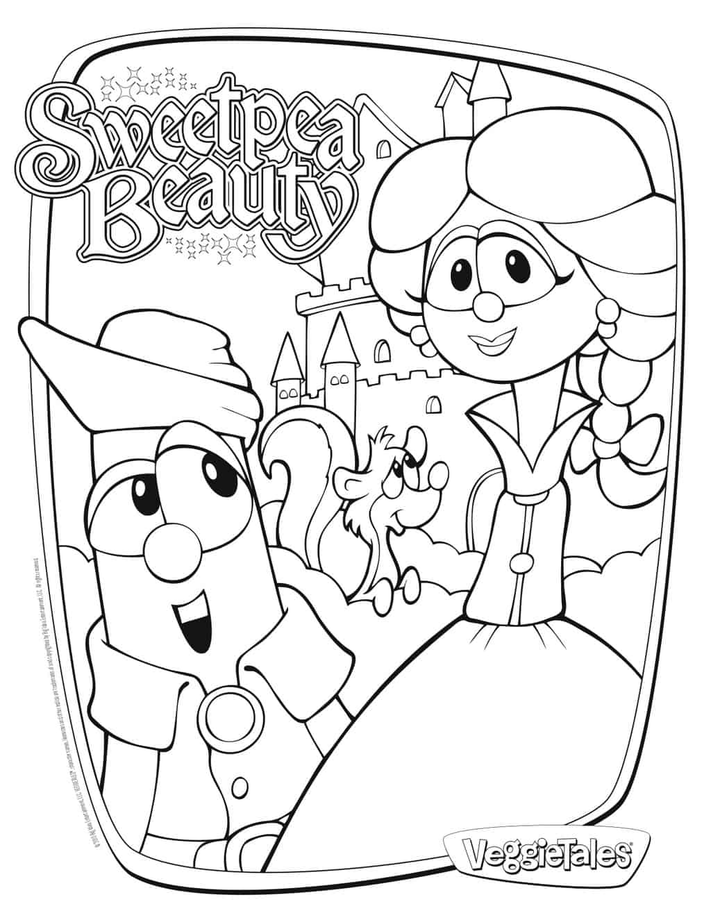 veggie tales coloring pages larryboy - photo#3