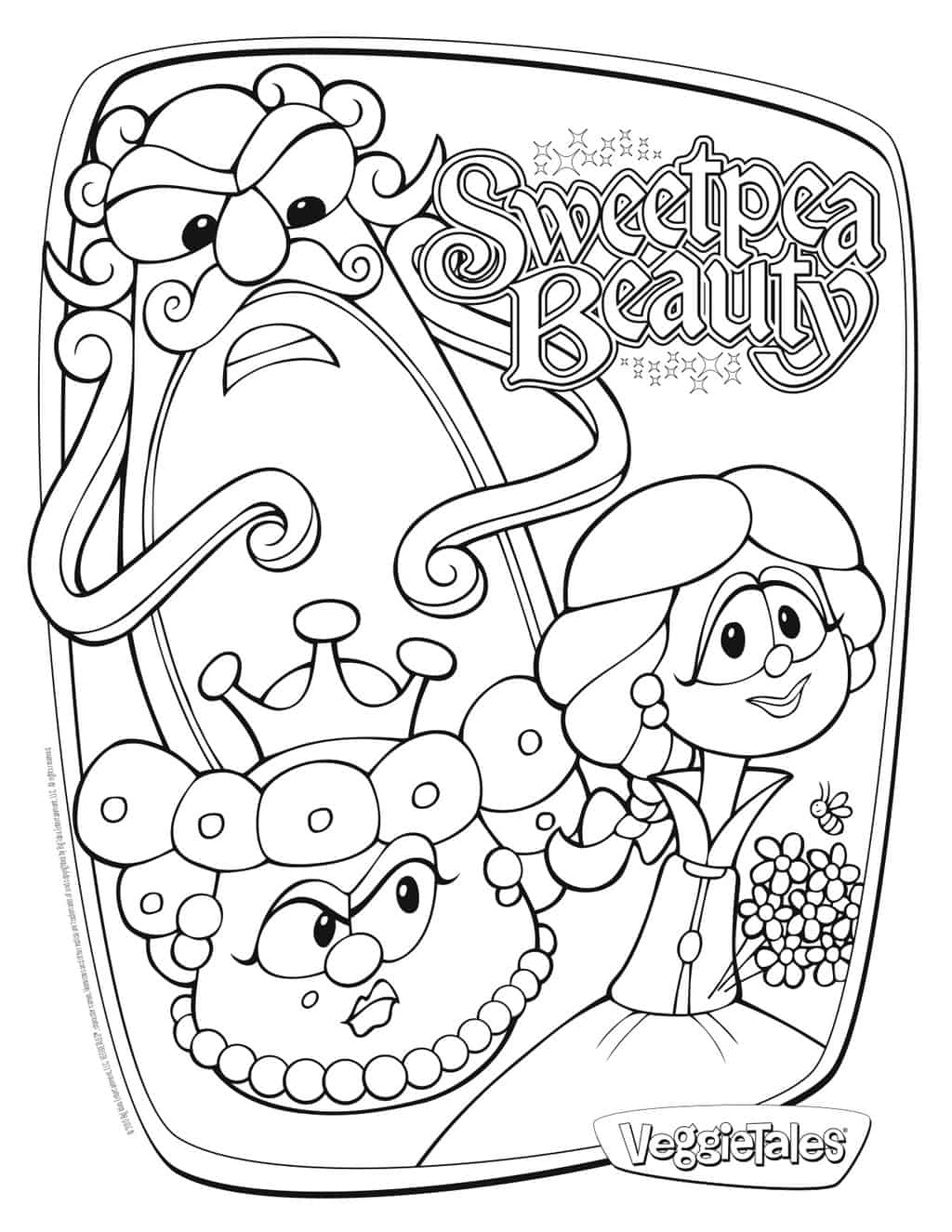 veggies tales coloring pages - photo#34