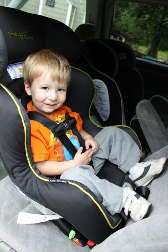 First Year True Fit Convertible Car Seat Review