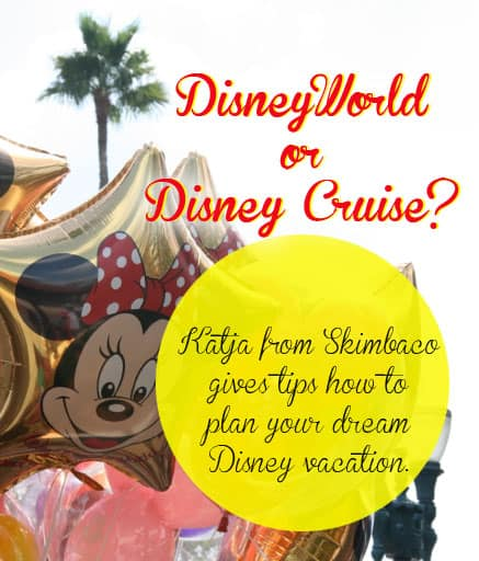 Which is better – Disney World or Disney Cruise