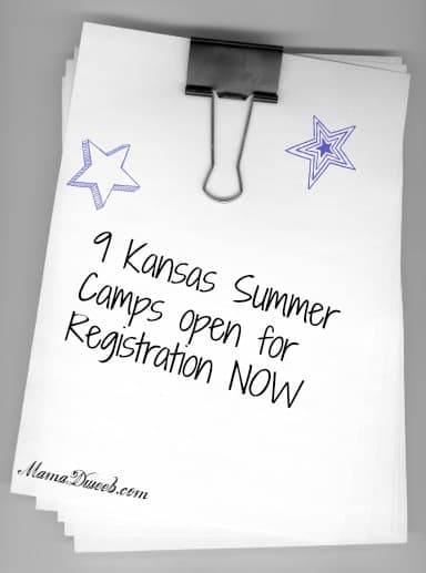 9 Kansas Summer Camps Open for registration
