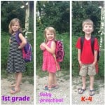 Wordless Wednesday – First day of school