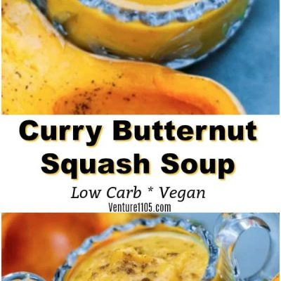 Butternut Squash Soup – With Coconut and Curry