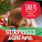 Hallmark Coupon – Save $5 on any purchase $10 or more