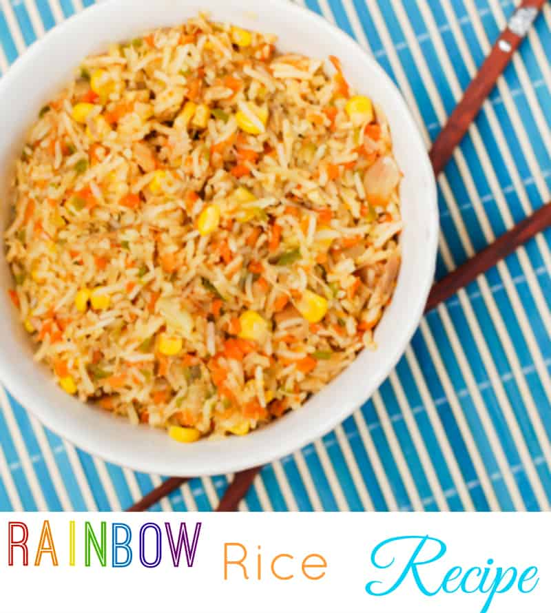 Rainbow Rice Recipe