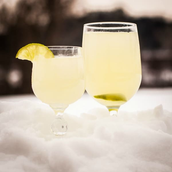 ice cold snow margaritas