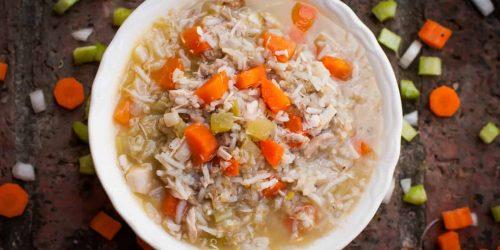 chicken rice and quinoa stew