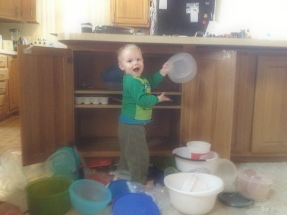 James in the dishes.jpg