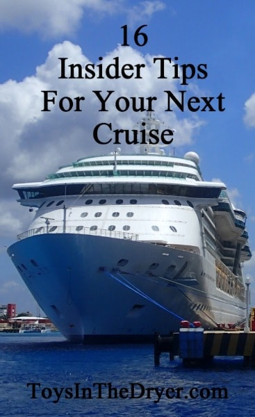 16 Tips for your next cruise