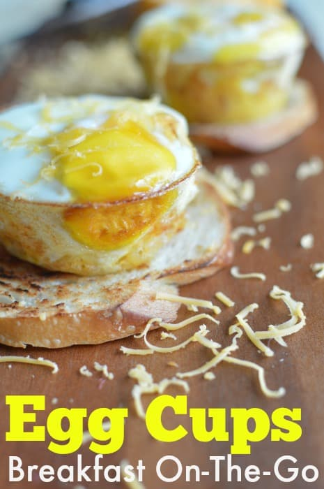 Portable breakfast Egg Cups Recipe