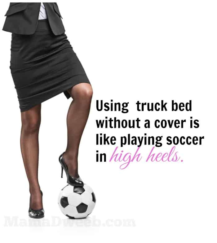 THIS is why every truck bed needs a cover