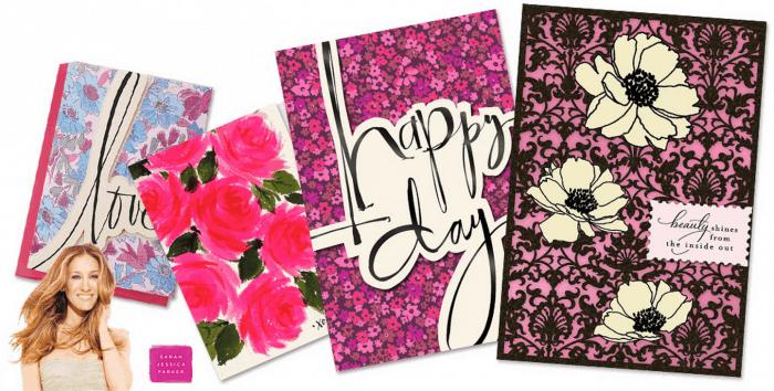 SJP Hallmark cards