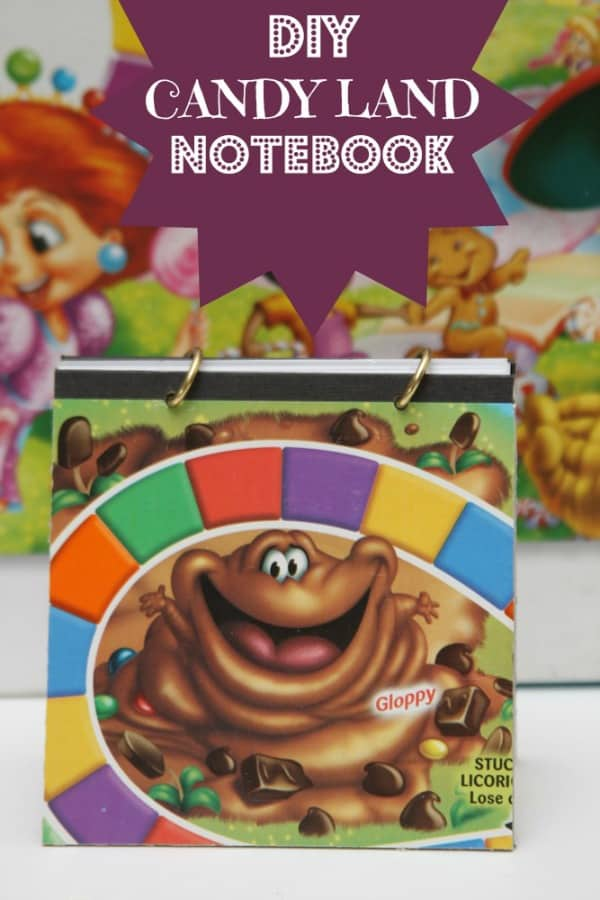 DIY Candy Land Notebook