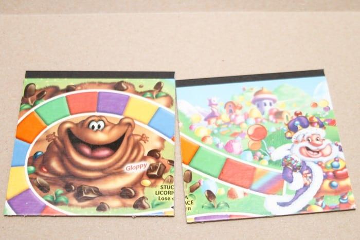 DIY Candy Land notebook step 1