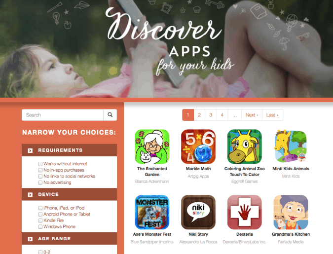All the kids' apps right here #MomsWithApps