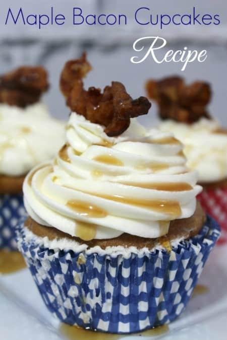 Maple Bacon Cupcakes Recipe