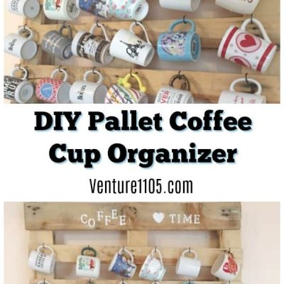 DIY Pallet Coffee Cup Holder Project
