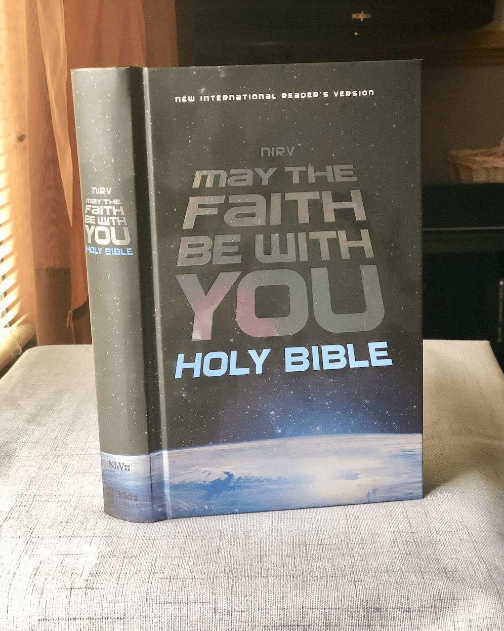 May The Faith Be With You Bible Cover