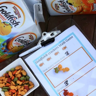 Free Printable Math Game With Crackers