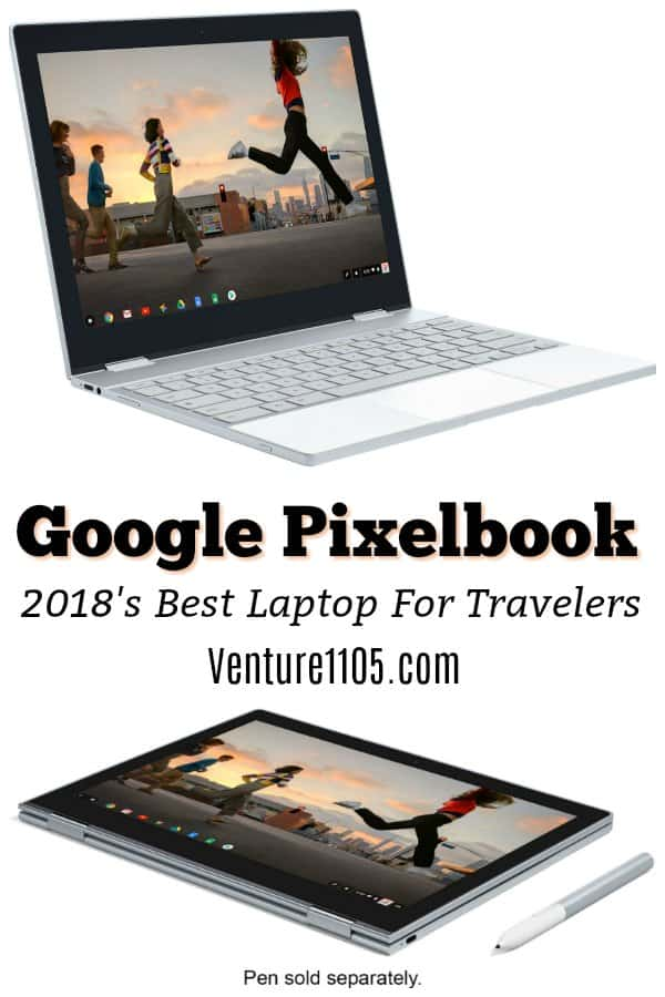 Google Pixelbook 2018 best laptop for traveling