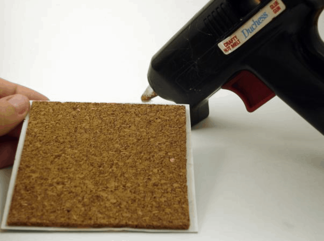 Make Your Own Corkboard Coasters