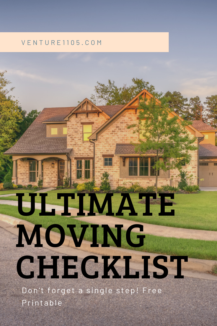 The Ultimate Moving Checklist Free Printable