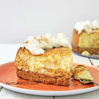Perfect Homemade Pumpkin Cheesecake