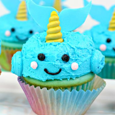 How To Make Narwhal Cupcakes