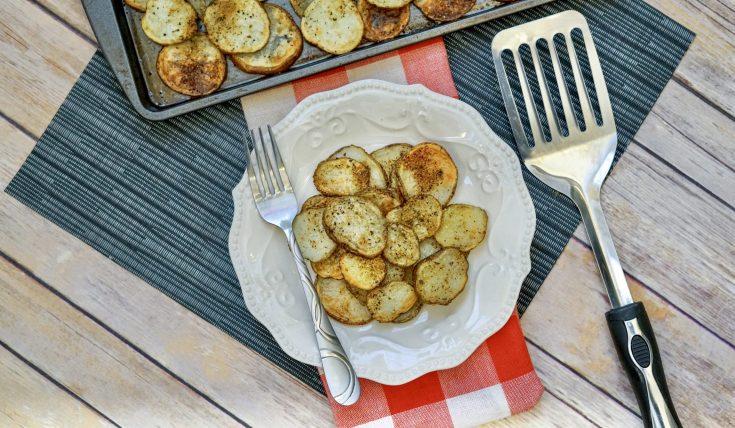 30-Minute Roasted Garlic Potatoes
