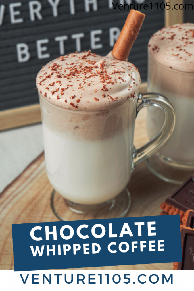 Chocolate Whipped Coffee Cold Drink Recipe
